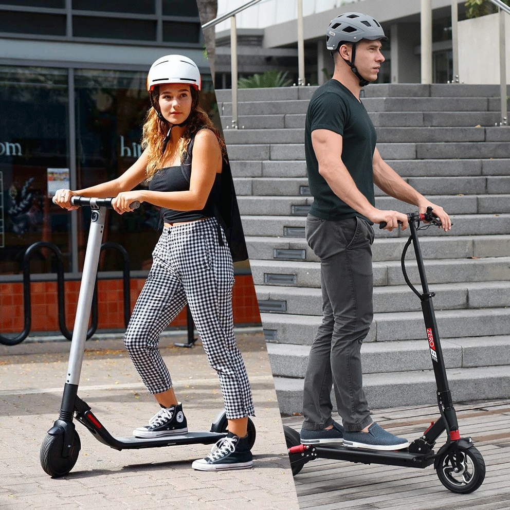 Electric Scooter Comparison: Segway ES2 vs ZERO 8