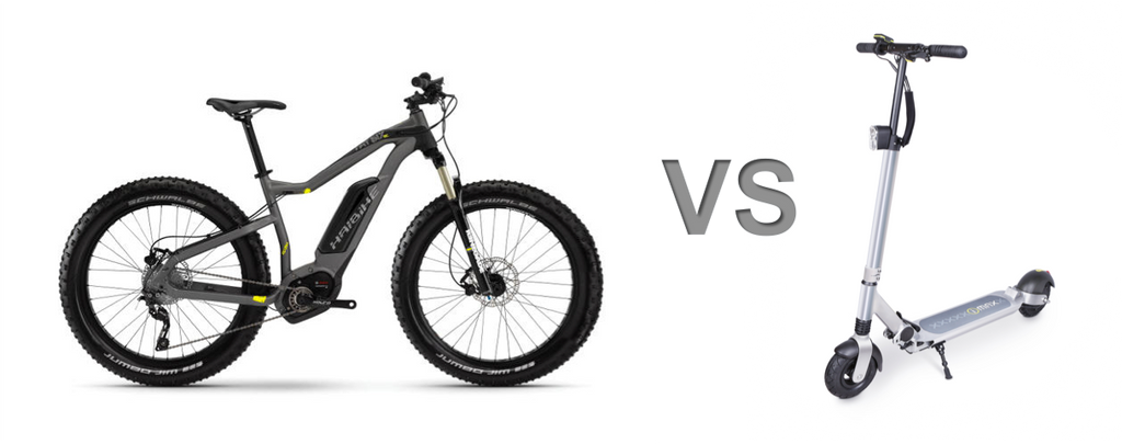 Which to Choose Part 2: Ebike vs Escooter