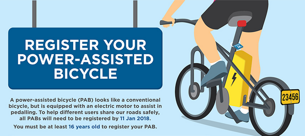 Registering your E-Bike in Singapore