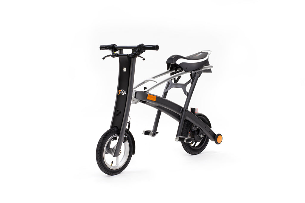 Stigo foldable E-Scooter with Seat