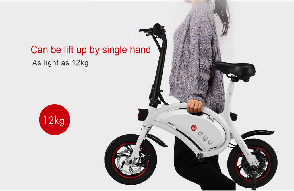 DYU Light E-Scooter with seat