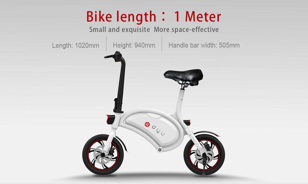 DYU Small E-Scooter with seat