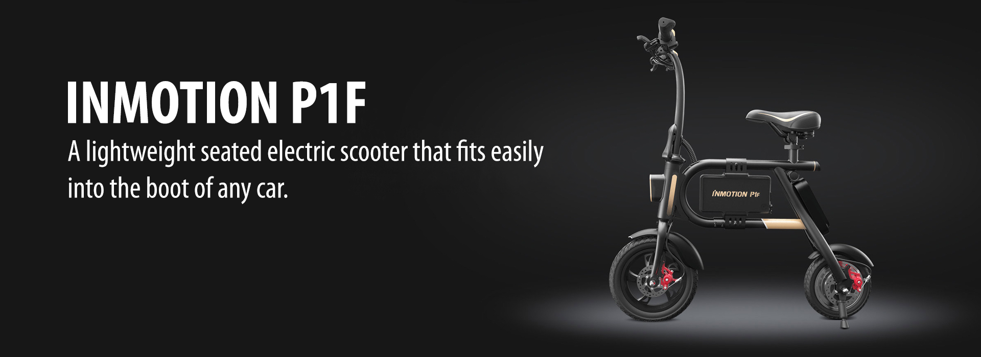 Inmotion P1F Light Electric Scooter with Seat