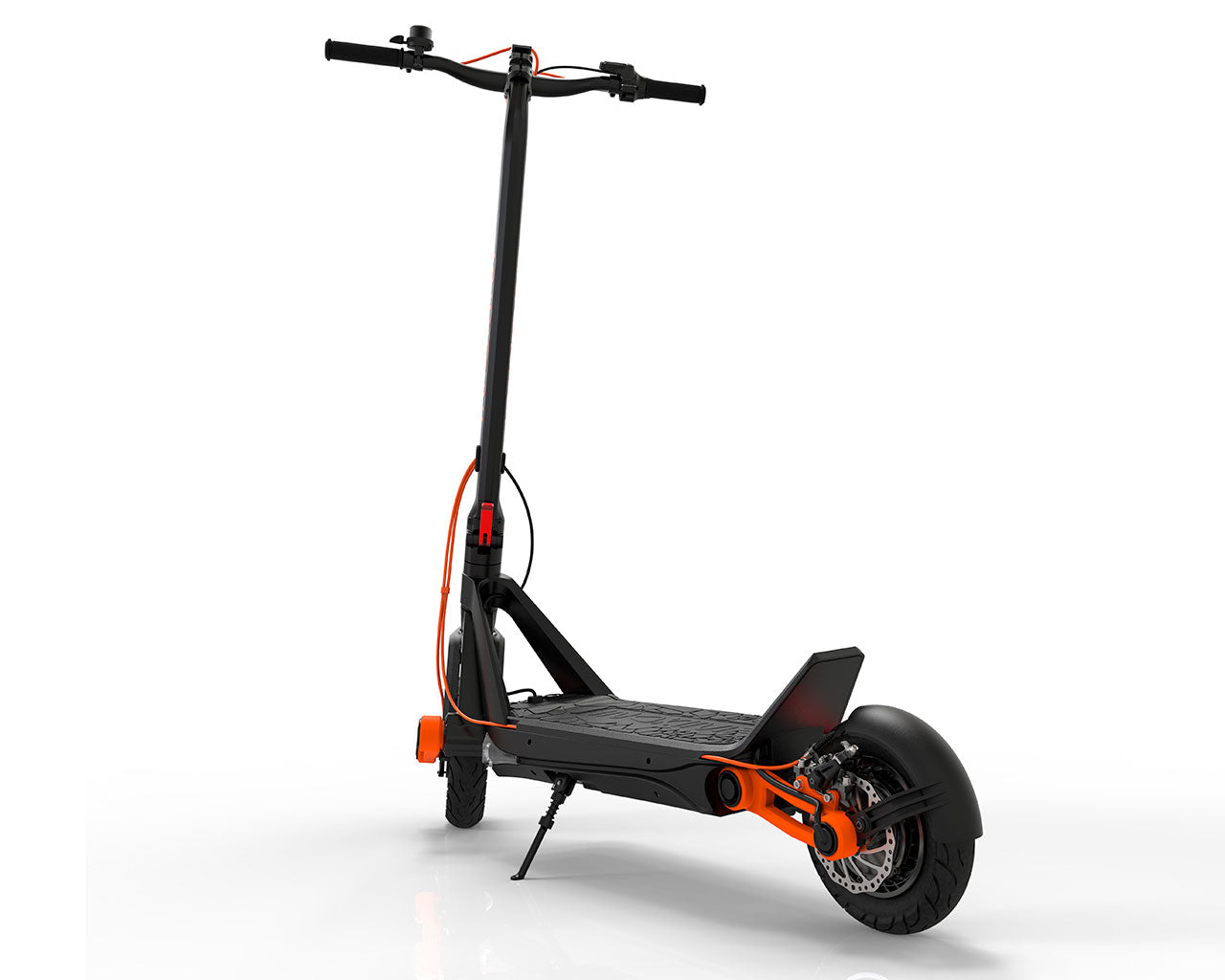 inokim ox electric scooter rear view suspension patented