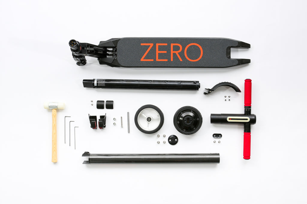 Zero 2.0 Light and Modular Electric Scooter