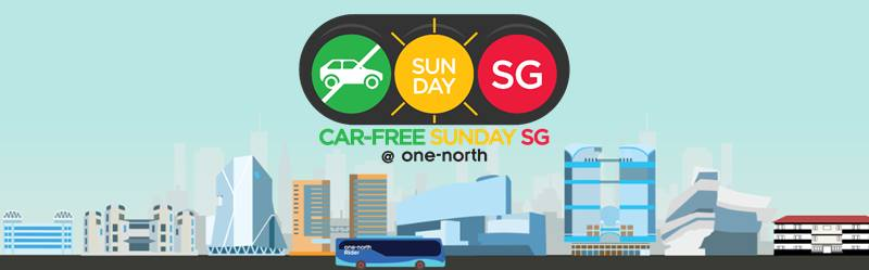 car free sunday banner