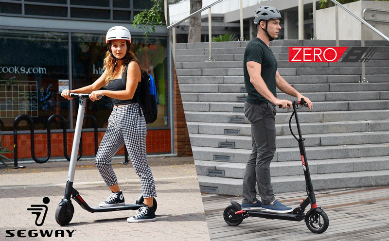 comparison ninebot es2 zero 8 electric scooter