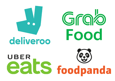 special offer for riders of deliveroo grabfoot ubereats foodpanda