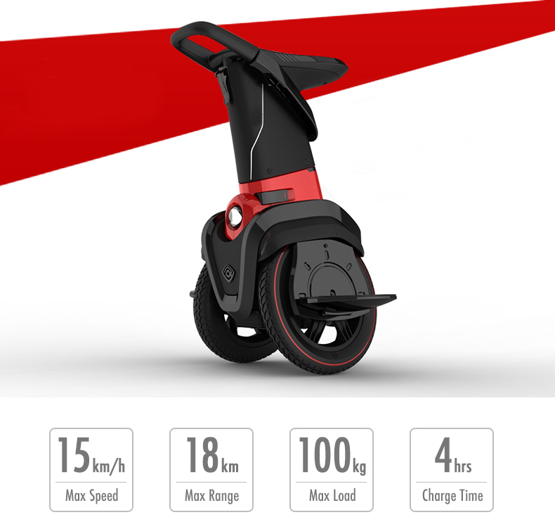 EcoRider Mark 3 Self Balancing Seated Electric Scooter
