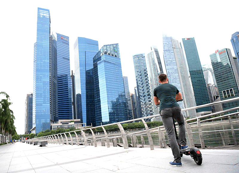 electric scooter in singapore