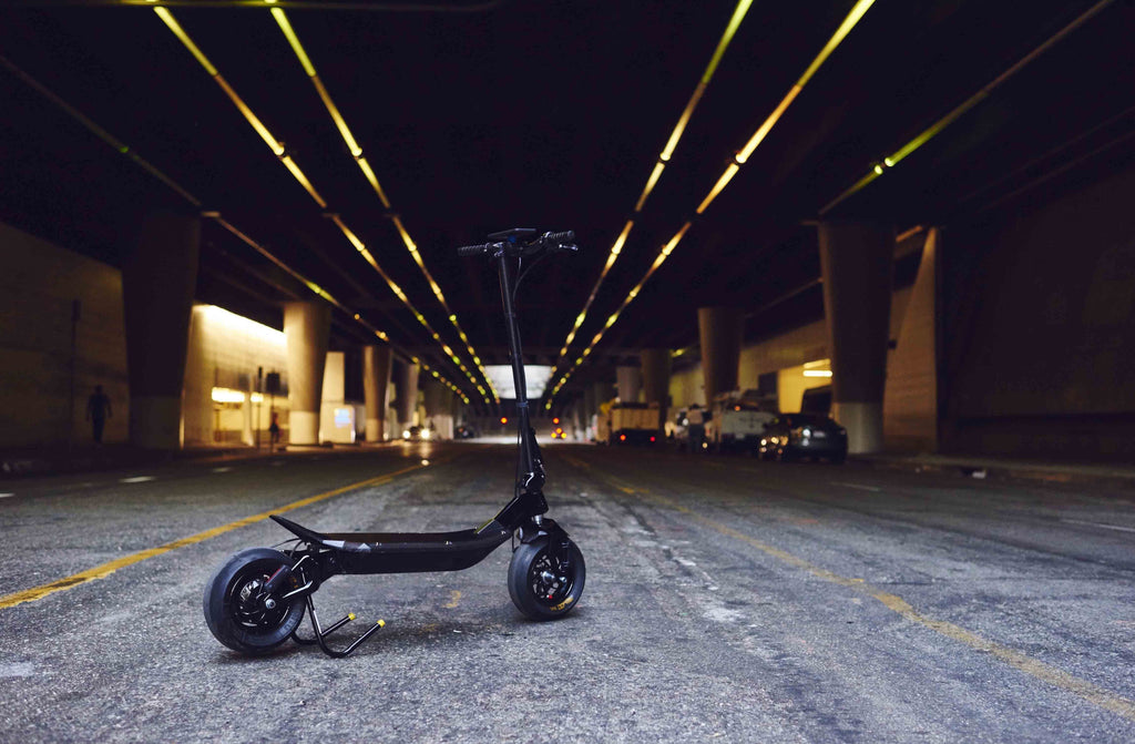 Rion powerful fast carbon fibre electric scooter
