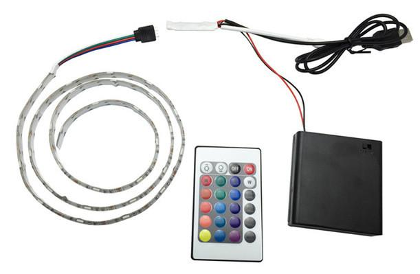 external battery led strip light
