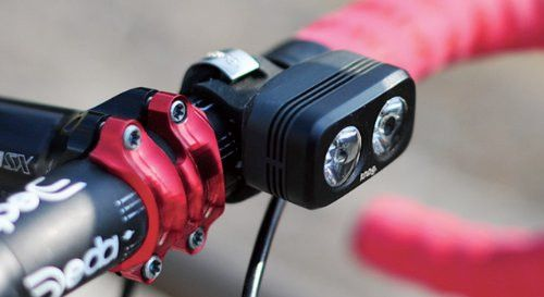 Knog Blinder Road 2 on Bike