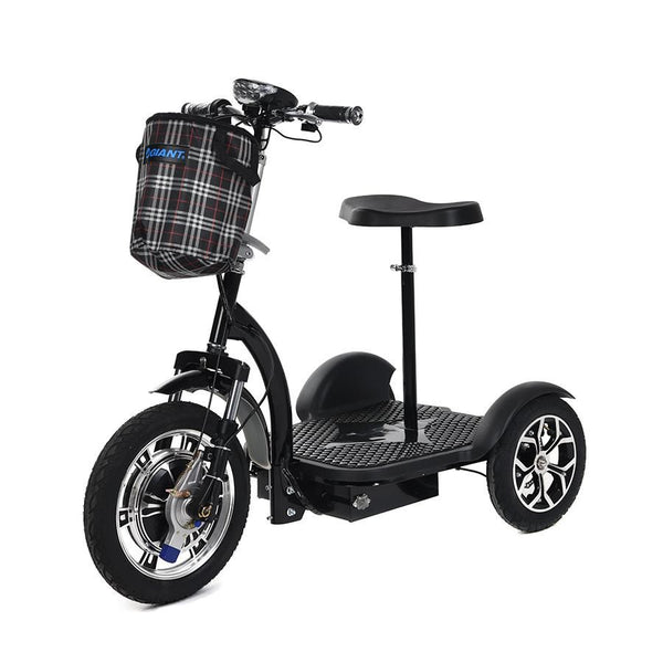 Triad 750 Seated 3 Wheel Electric Scooter Electric