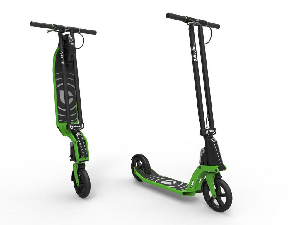 Kleefer Pure-180 Kick scooter green colour