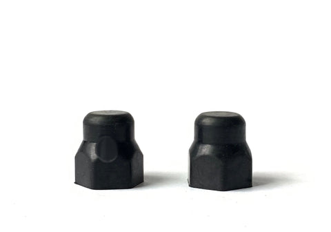 ZERO RUBBER AXLE NUT COVERS