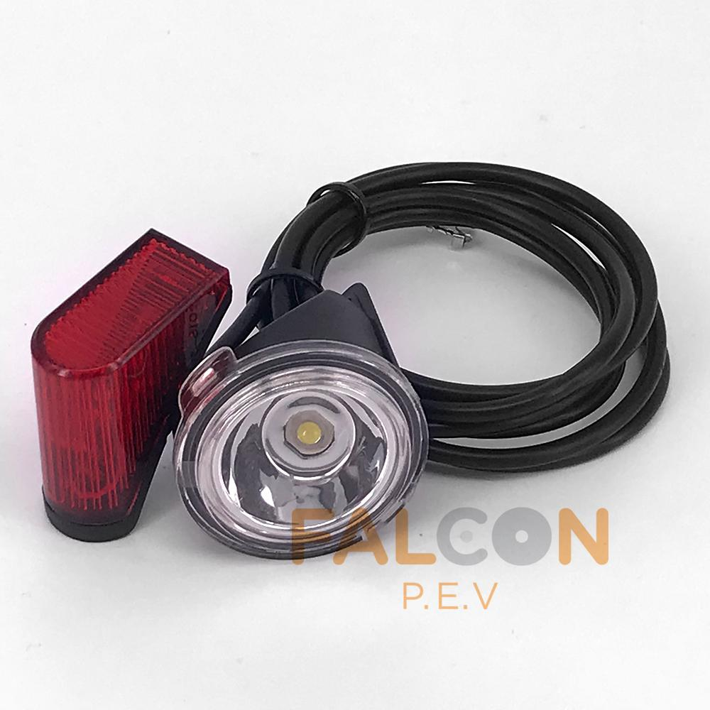 Inokim Headlight & Rear Light (Light and Quick series)
