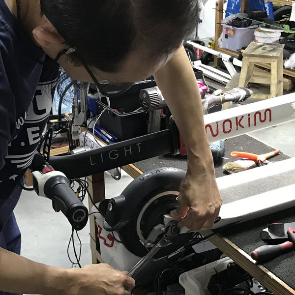 Repair Self-balancing Scooters (for Ninebot Segway, Inmotion etc.)