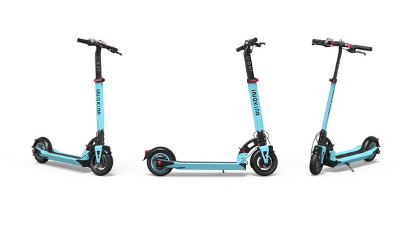 inokim light 2 e-scooter blue color