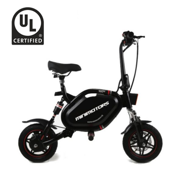 Electric Scooter With Seat >> Minimotors Tempo 10ah E Scooter With Seat