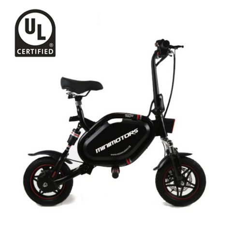 MINIMOTORS Tempo 10AH E-Scooter with Seat