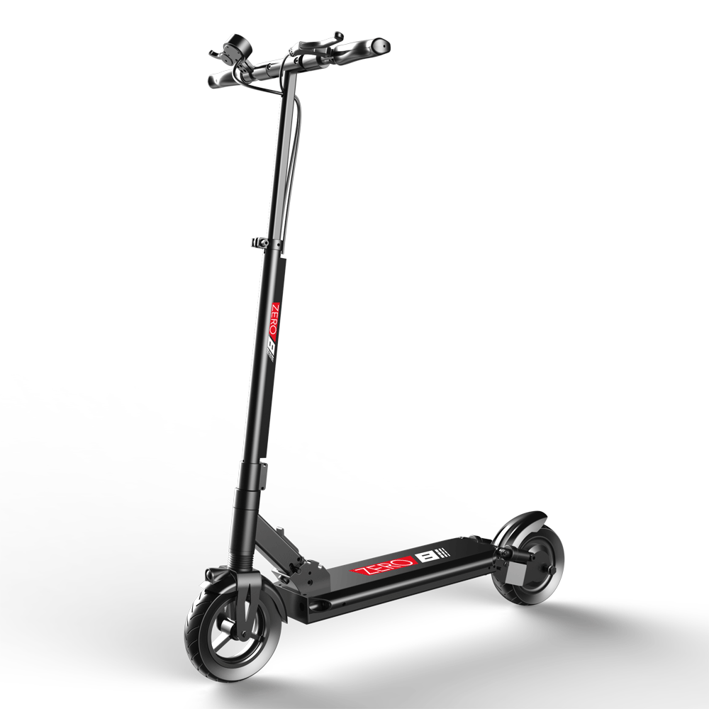 zero 8 electric scooter with full suspension