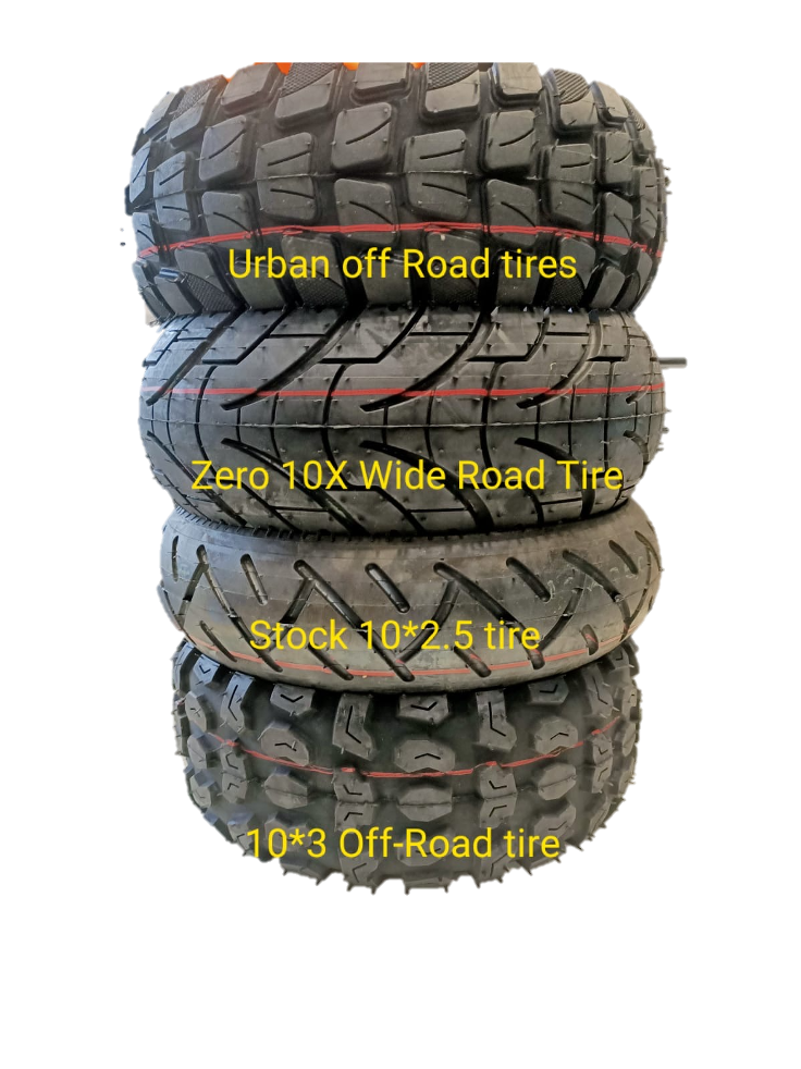 10 x 3 inch URBAN Off-road Tyre and Tube