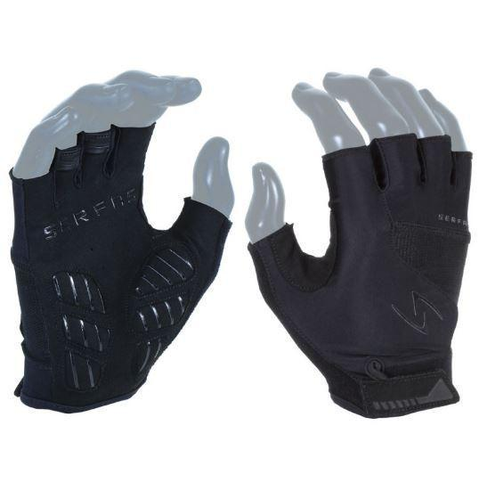 Serfas Gloves Vigor Short Fingers - BLACK