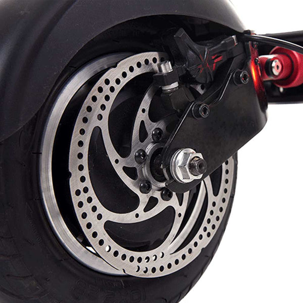 Zero 10 Electric Scooter Rear Suspension