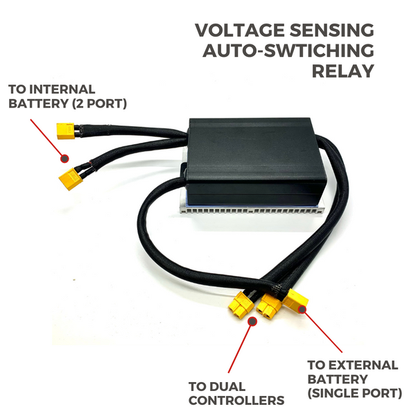 Battery Solid State DC Relay
