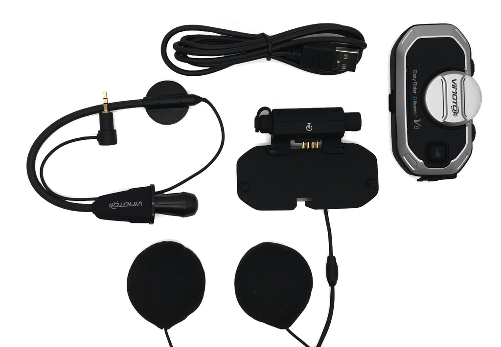 Helmet Bluetooth Intercom Headset