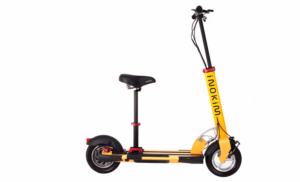 inokim quick 3 electric scooter with seat