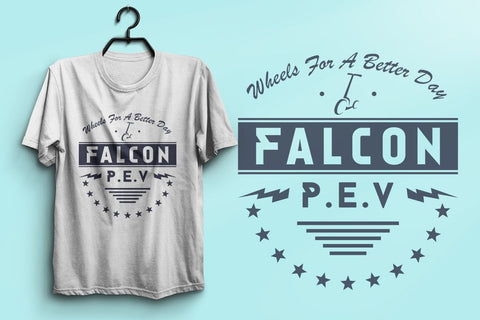 Falcon PEV Classic Soft Cotton Crew neck T-shirt