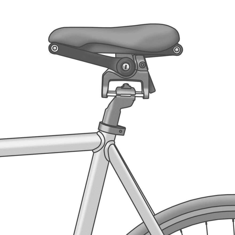 The Seatlock -- Foldable Saddle Lock