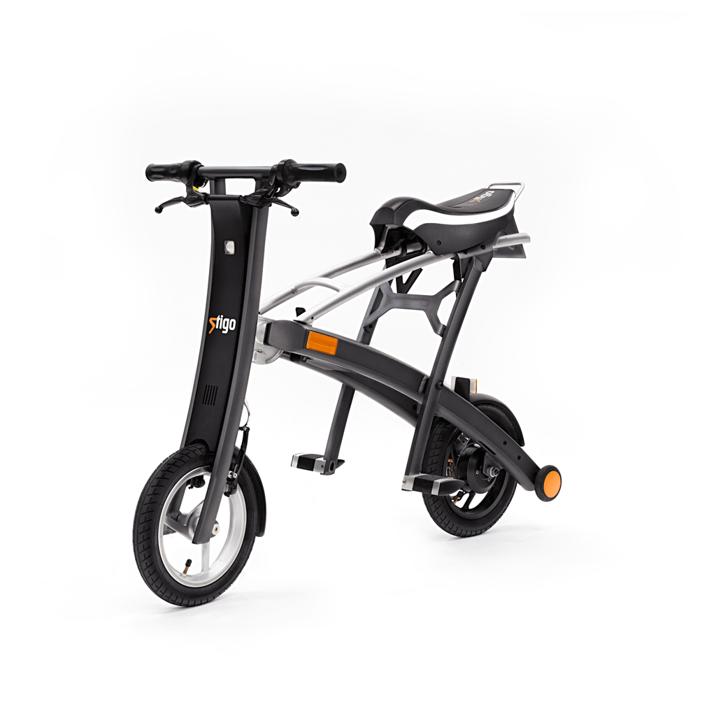 Stigo electric scooter with seat