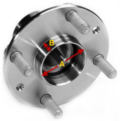 Centre bore diameter / Hub lip