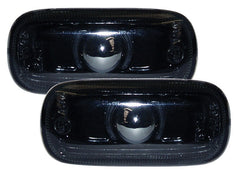 Audi A3 8P Side Indicator Lights - Black (03-08)