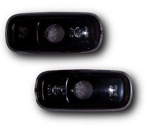 Audi A3 & S3 8L Side Indicator Lights - Crystal Black (00-03)