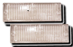 BMW 3-Series E30 Front Indicator Lenses - Clear (83-93)