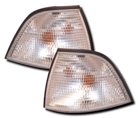 BMW 3-Series E36 Coupe Front Indicator Lights - Clear (91-99)