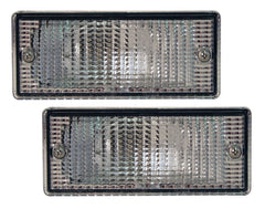 BMW 3-Series E30 M3 Front Indicator Lenses - Clear (85-92)