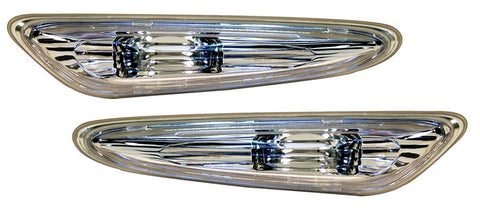 BMW 5-Series E60 Saloon Side Indicator Lights - Crystal Clear (03-10)