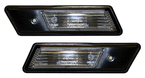 BMW 5-Series E34 Saloon Side Indicator Lights - Clear (88-95)