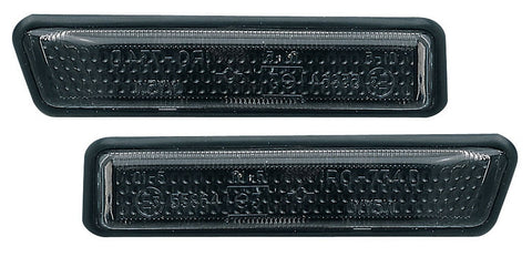 BMW 3-Series E36 Saloon Side Indicator Lights - Black (96-98)