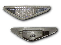 BMW 3-Series E46 Convertible Side Indicator Lights - Clear LED (03-06)