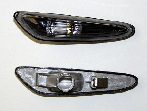 BMW 3-Series E46 Convertible Side Indicator Lights - Black (01-02)