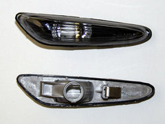 BMW 3-Series E46 Touring Side Indicator Lights - Black (01-05)