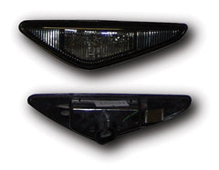 BMW 3-Series E46 Convertible Side Indicator Lights - Black LED (03-07)