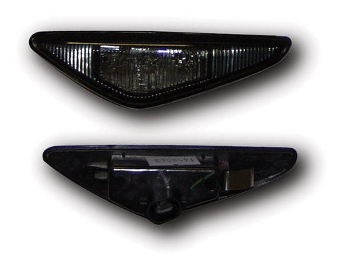 BMW 3-Series E46 Coupe Side Indicator Lights - Black LED (03-06)
