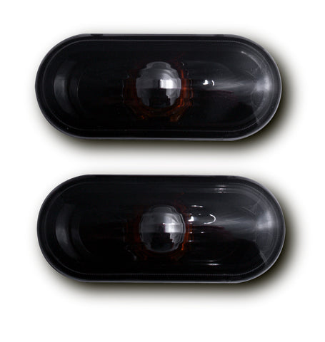 Seat Cordoba MK2 Side Indicator Lights - Crystal Black (02-08)